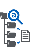 document management file icon