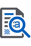 document management recognition icon