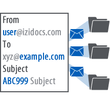 email management automatic email processing icon
